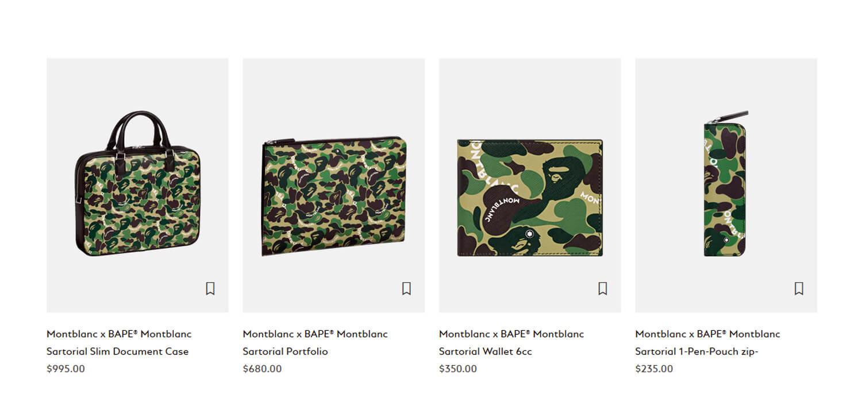 Montblanc firma una collezione streetwear con Bape