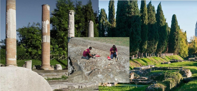 La campagna di scavi che ad Aquileia ha riportato alla luce un deposito di allume d'epoca romana