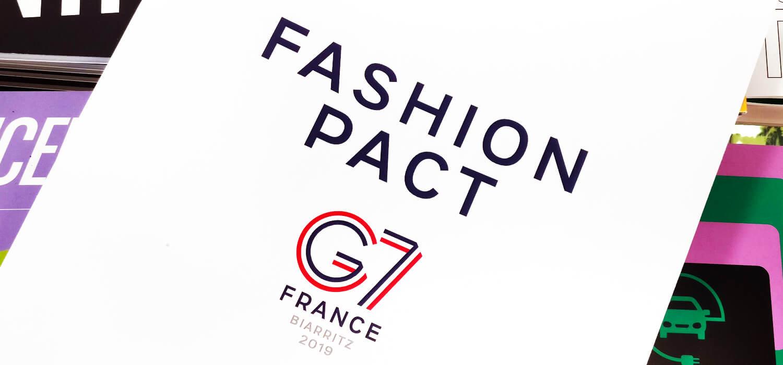 Fashion Pact al G7 di Biarritz