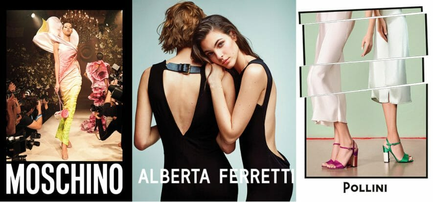 I progetti di Aeffe per Pollini e Moschino