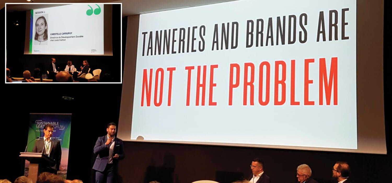 The Sustainable Leather Forum a Parigi