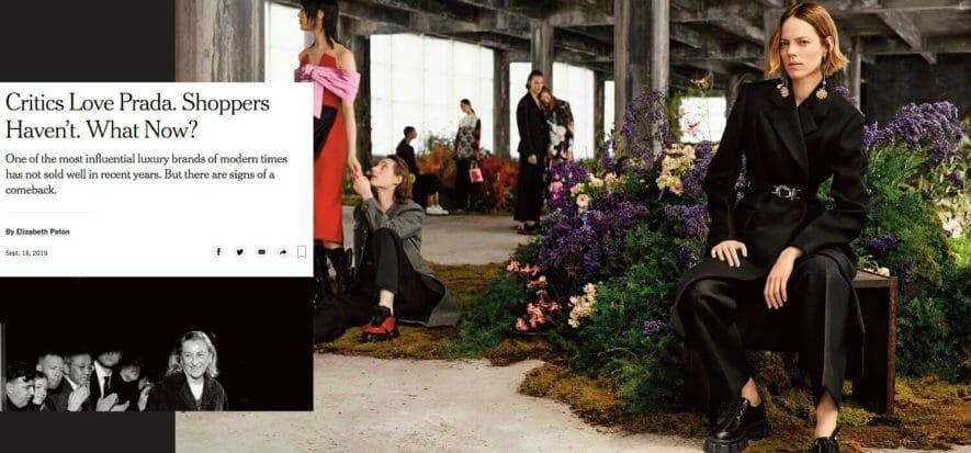 New York Times analizza Prada
