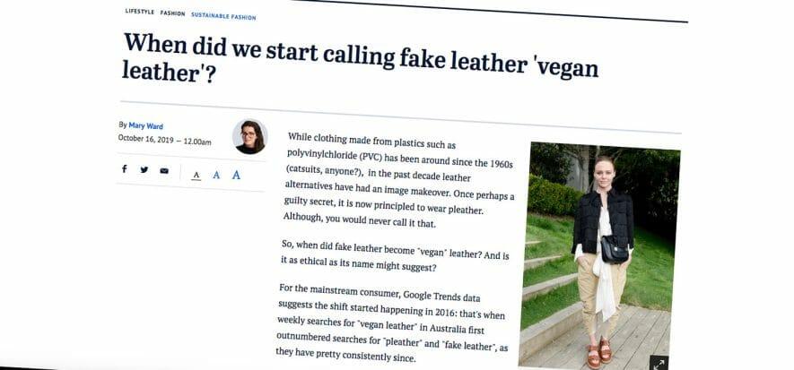 A qualcuno piace green: perché il sintetico si vende come vegano
