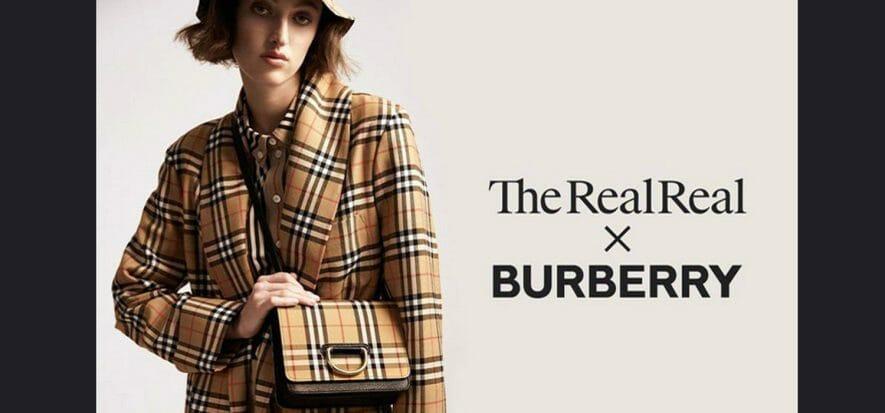 Progetto circolare di Burberry con The RealReal