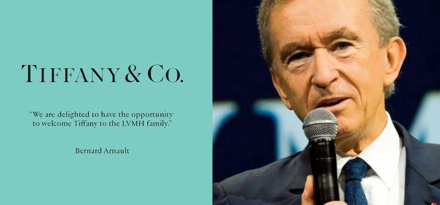 """LVMH compra Tiffany: """"La faremo prosperare per i secoli a venire"""""""