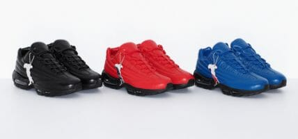 Nike e Supreme, le Air Max 95 di lusso sono made in Italy
