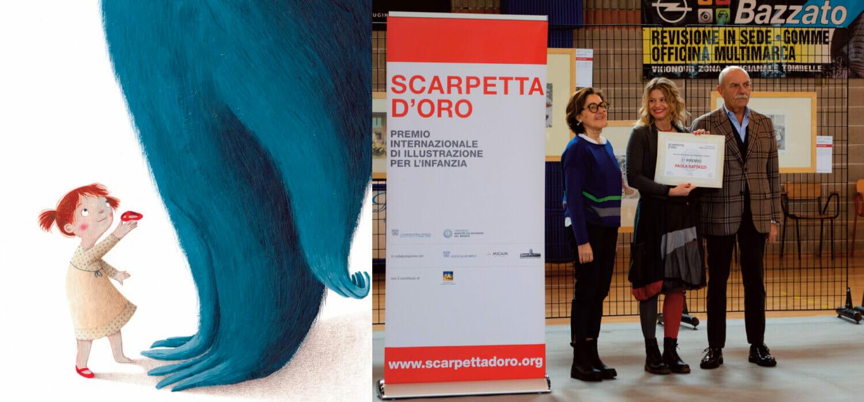Amici per la Scarpa, Paola Rattazzi vince la Scarpetta d'Oro