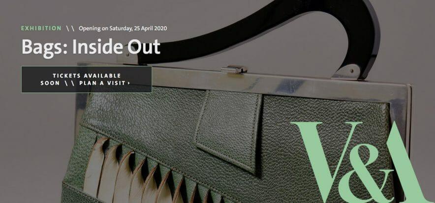 Londra celebra la borsa con Bags: Inside Out, mostra al V&A Museum
