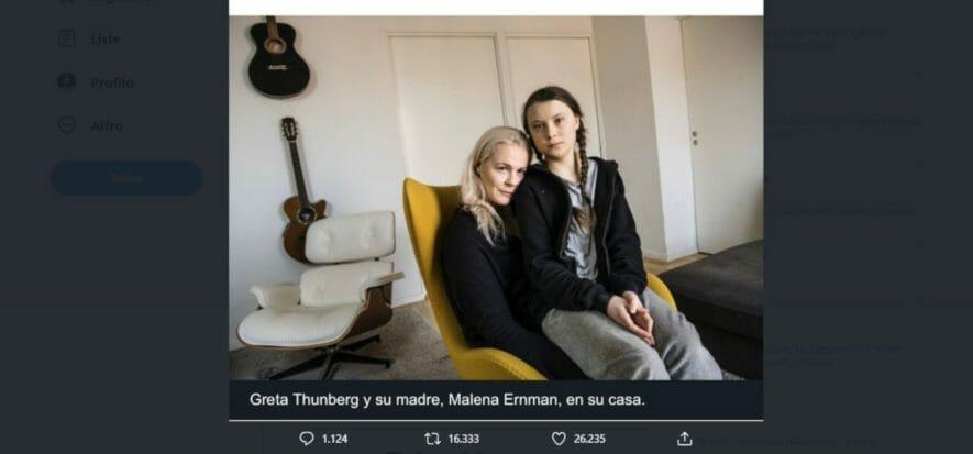 Scoop sulla poltrona di Greta: i debunker non capiscono la pelle