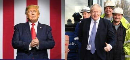 Trade War, Trump attacca Francia e Cina. Con Johnson è hard Brexit