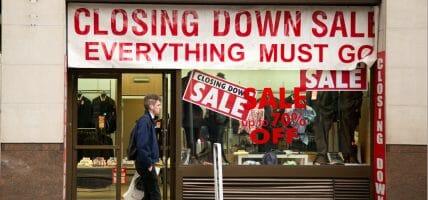 Apocalypse Retail senza sosta: 2019 drammatico in USA e UK