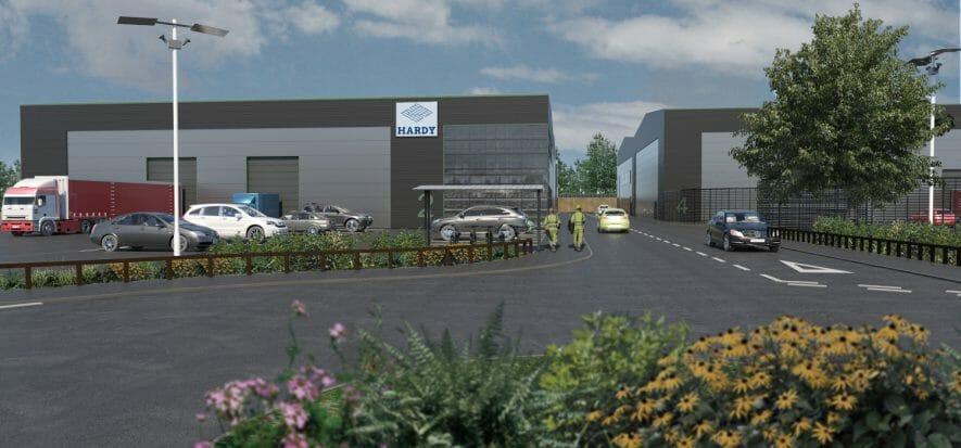 Hardy UK prepara il nuovo stabilimento: sarà pronto ad agosto