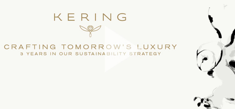 La sostenibilità per Kering: tracciabile l'88% delle materie prime
