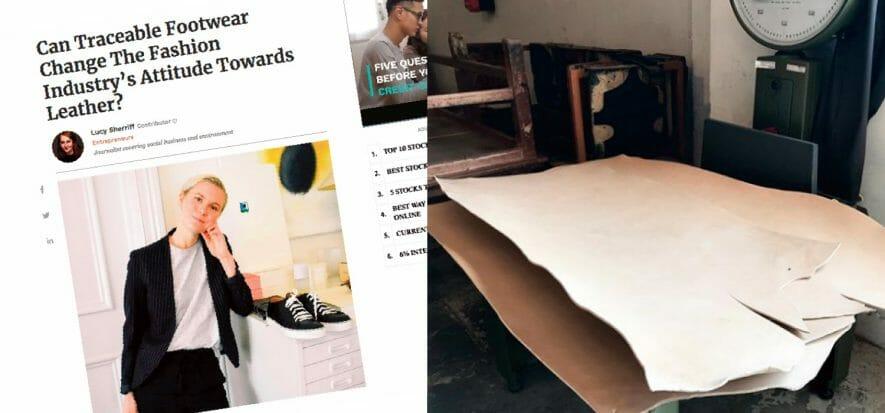 Josefin Liljeqvist vuole cambiare la scarpa con la tracciabilità