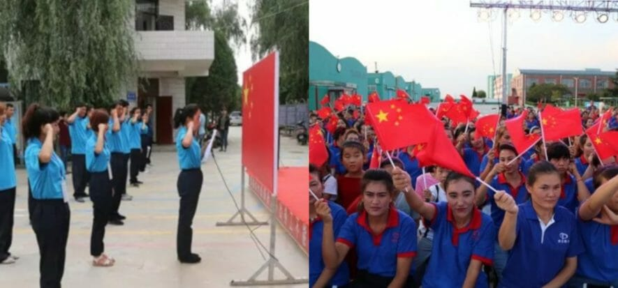 Cina, uiguri al lavoro forzato nella supply chain di 83 brand
