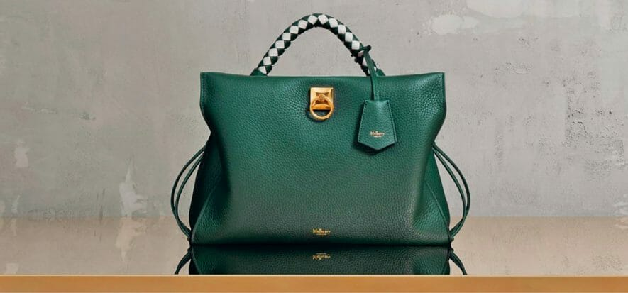 Mulberry harmonises prices: the same price for accessories, everywhere