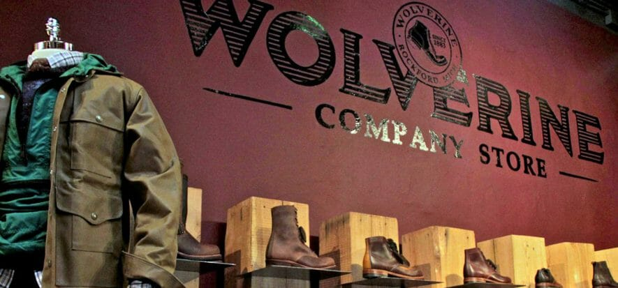Wolverine down 15.6% in the quarter: online sales and Saucony go well though