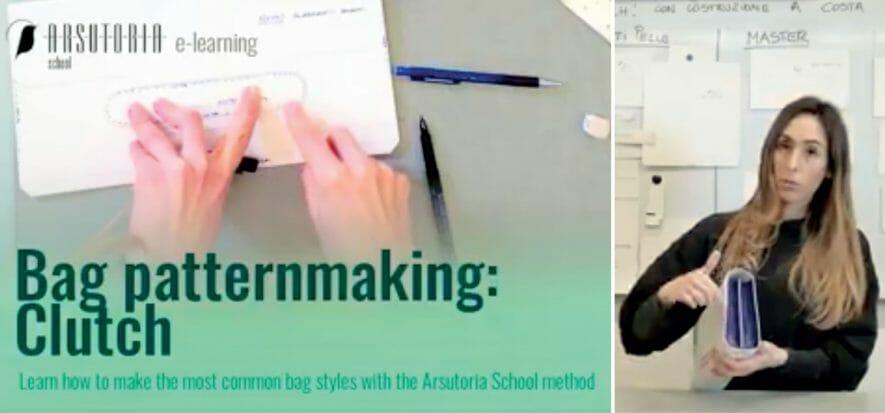 E Arsutoria trova come fare il corso di modelleria borse da remoto