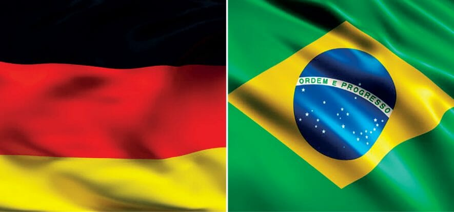Brazil and Germany: Covid hits occupation levels