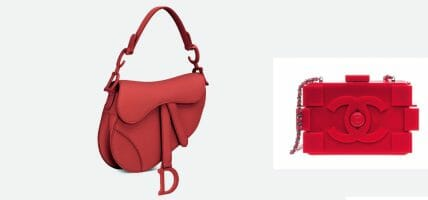 USA, Dior and CHANEL at the patent office for Saddle Bag and Lego