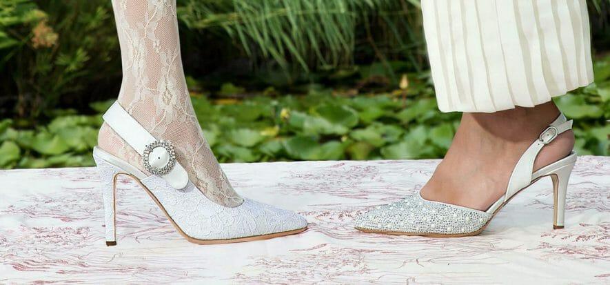 Le scarpe da sposa di Elata alla prova di un anno senza matrimoni