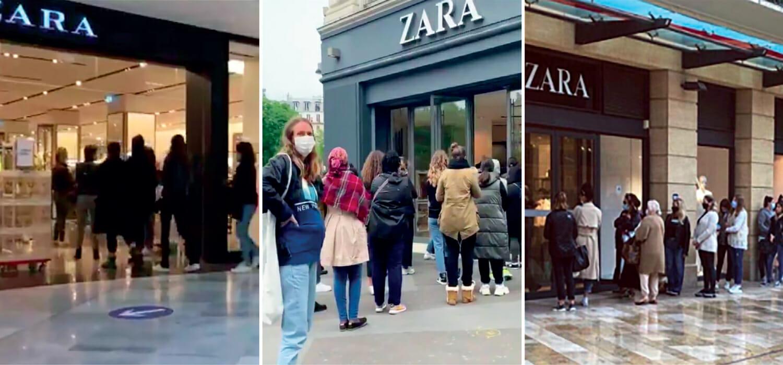 Il boom alla riapertura di Zara e la lezione sul fast fashion