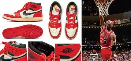 Con The Last Dance termina pure l'asta per le Air Jordan del 1985