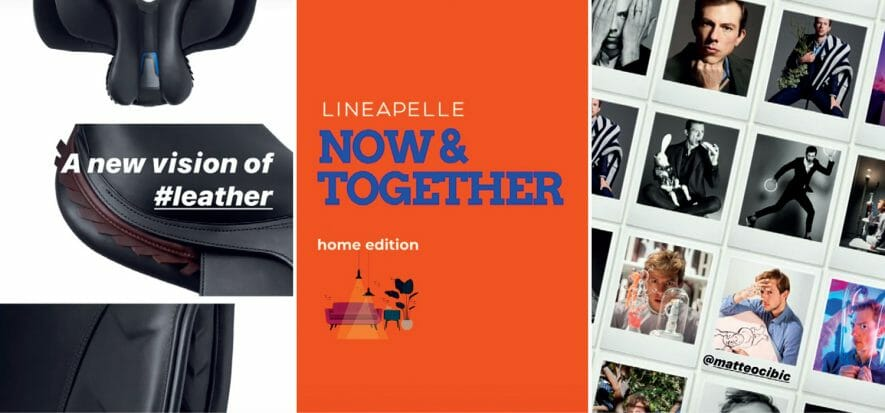 LP Now & Together: made in Italy, pelle, design oggi su Zoom