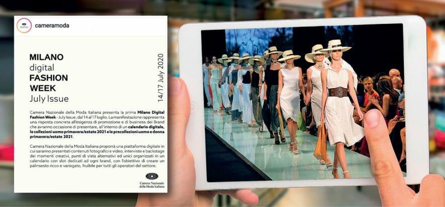 Milan, Paris, London: fashion weeks choose digital