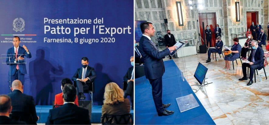 """Di Maio presenta il Patto per l'Export: """"Sostegno a moda e fiere"""""""