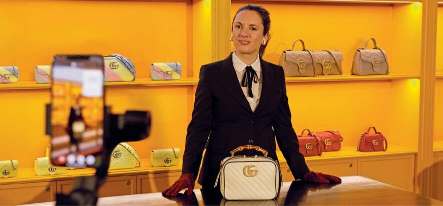 Gucci and the others: shopping in digital assisted mode