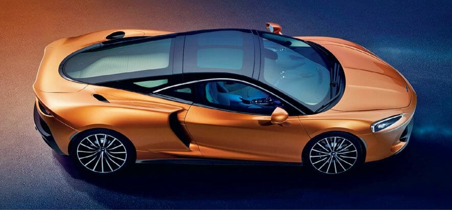 McLaren, for the UK-based carmaker, the GT deserves real leather only (video)