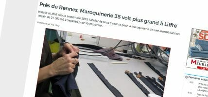 Despite crisis, Maroquinerie 35 expands and redoubles factories