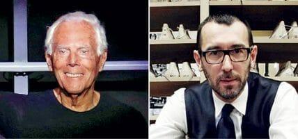 Il made in Italy è da salvare per Zegna, da valorizzare per Armani