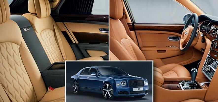 1 milione di ore per gli interni: Bentley Mulsanne va in pensione