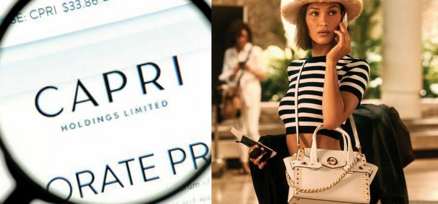 Capri Holdings estimates -70% revenue in the April-June period