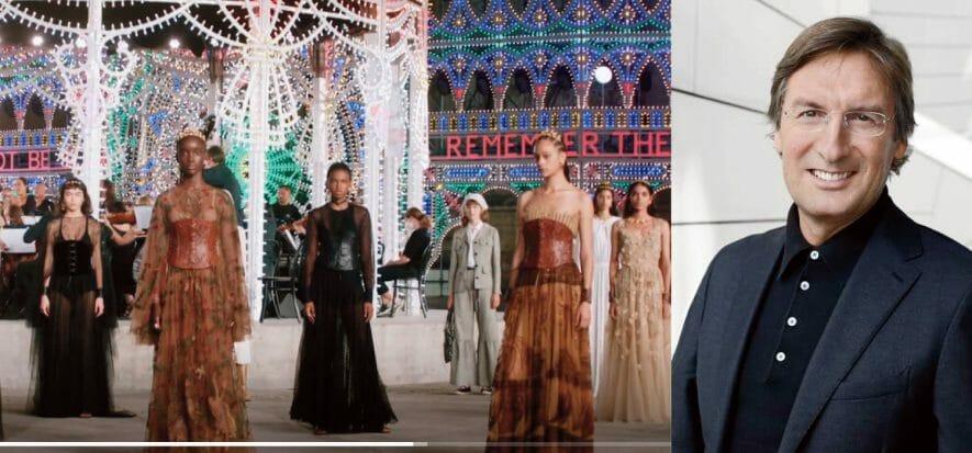 """Il """"grande potenziale"""" di Dior incanta Lecce con la sua Cruise"""