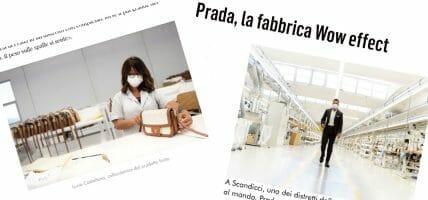 Il modello di management della pelletteria Prada di Scandicci