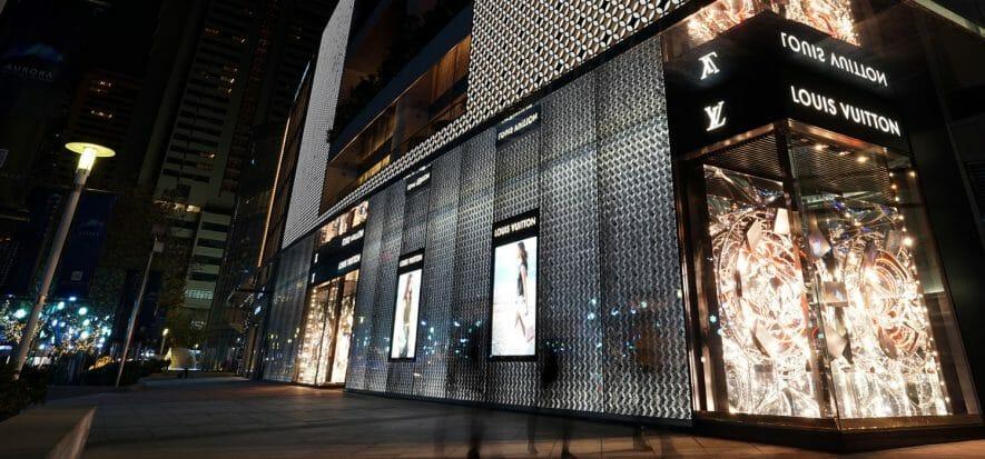 Louis Vuitton scores big in Shanghai: 22 million dollars in revenues in August
