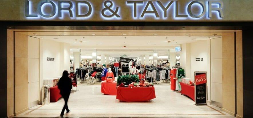 Cessione o fine della storia: Lord & Taylor dichiara bancarotta