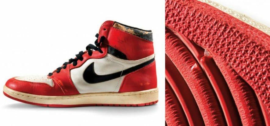 615.000 dollari per le sneaker più costose della storia