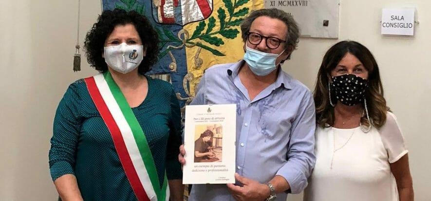 il sindaco di San Mauro Pascoli, Luciana Garbuglia