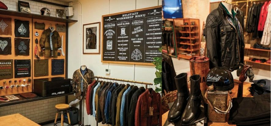 Belstaff focuses on modern, essential and quality leather