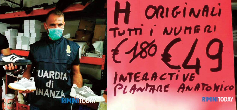 """Quel cartello non la conta giusta"""": sequestrate 500 Hogan false ..."""