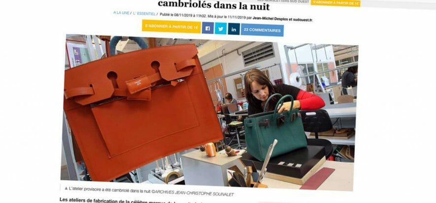 Il caso francese delle Birkin fake: tutti condannati gli ex Hermès