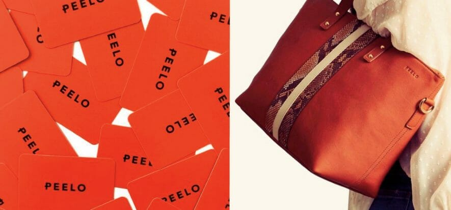 New brands are growing: here is Peelo, from Ireland with Italian leather