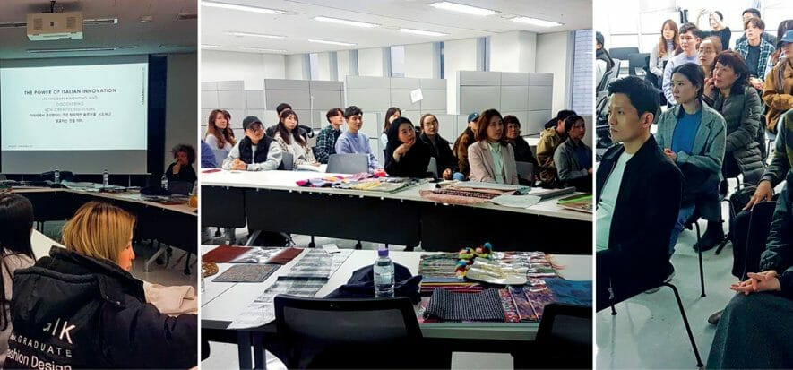 Lineapelle's contest with Hongik University during the final rush