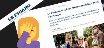 The best answer to the French who criticise Italian fashion