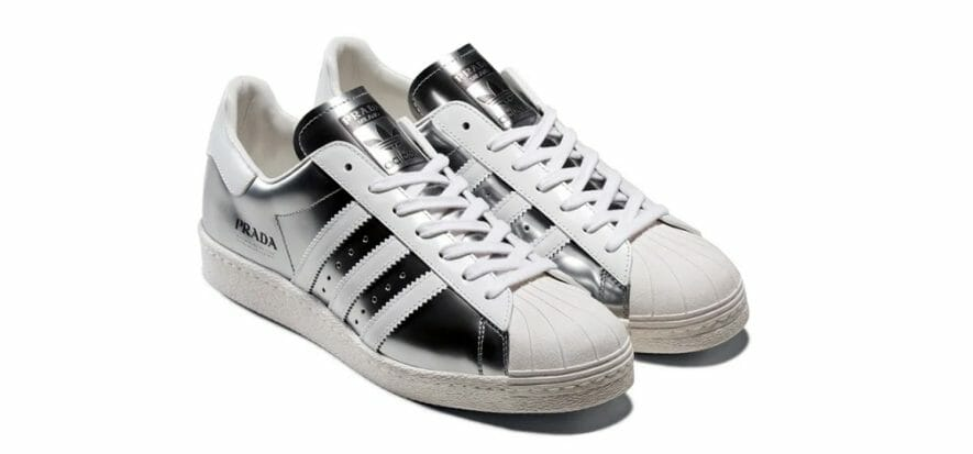 Superstar by Prada and Adidas are a made in Italy masterwork