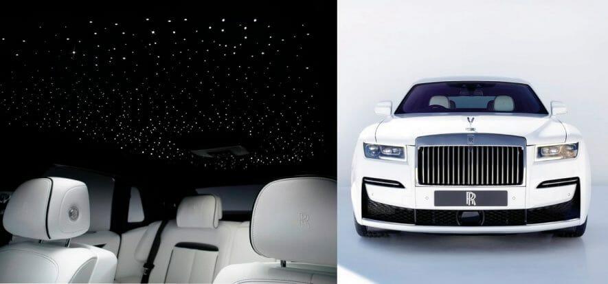 Lusso come sinonimo di pelle: l'incredibile Ghost di Rolls Royce